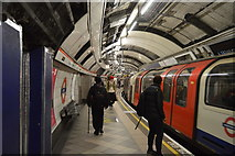 TQ3281 : Central Line at Bank by N Chadwick
