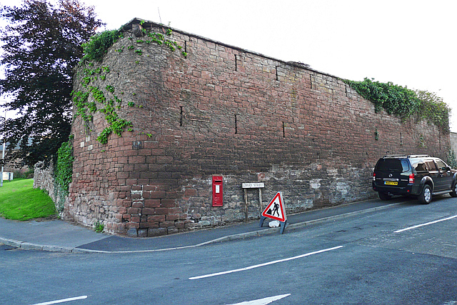 An old wall at Blackwell