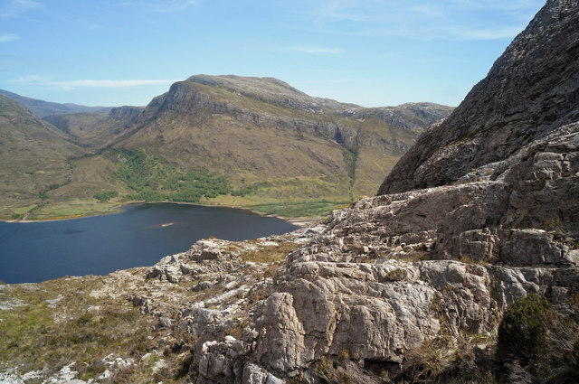 East end of Loch Maree from the Mountain Trail