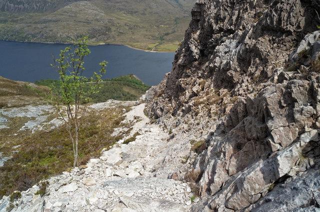 On the Beinn Eighe Reserve Mountain Trail