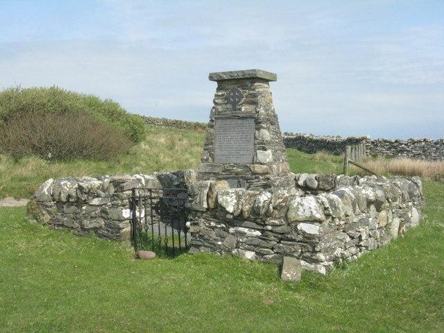 Memorial at Sanaigmore