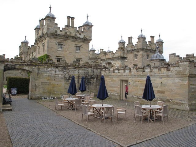 Courtyard cafe, Floors Castle