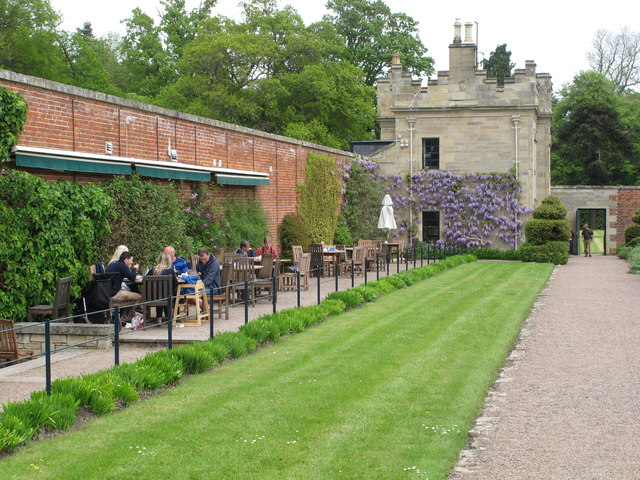 Walled garden cafe, Floors Castle