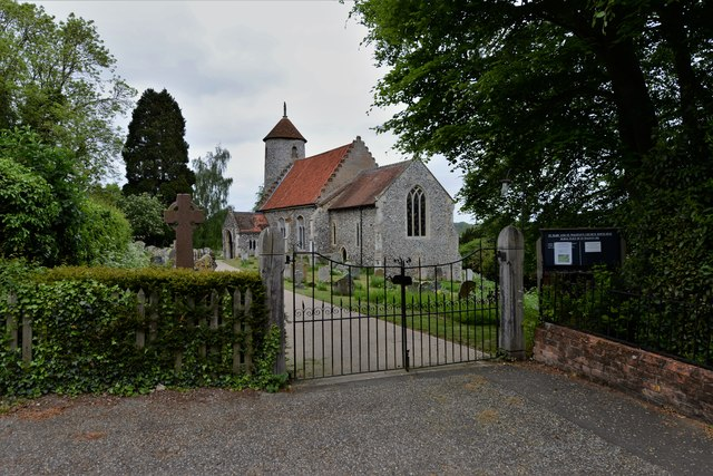 Bawburgh, St. Mary and St. Walstans' Church
