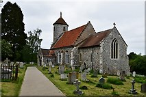 TG1508 : Bawburgh, St. Mary and St. Walstans' Church by Michael Garlick