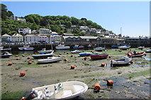 SX2553 : Low tide in Looe Harbour by Jaggery