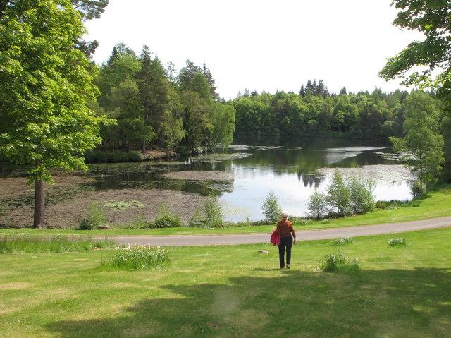 Bowhill Upper Loch