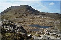 NG9963 : Loch Allt an Daraich from the summit of Leathad Buidhe by Julian Paren