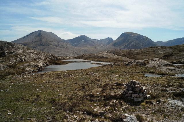 Loch Allt an Daraich from the Mountain Trail