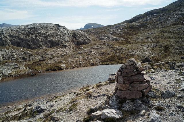 Lunar Loch on the Beinn Eighe Reserve Mountain Trail