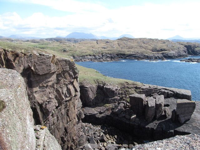 Cliffs at Port Chaligaig