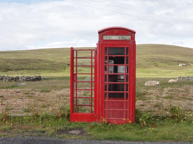 British Telecom payphone