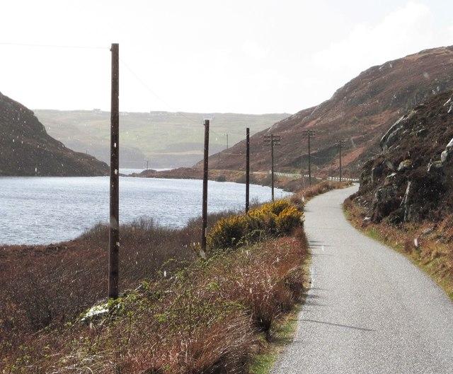 The B869 at Loch na Bruthaich
