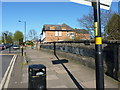 SP0980 : Highfield Road railway bridge by Richard Law