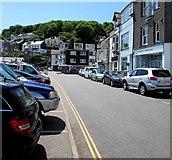 SX2553 : Quay Road, Looe by Jaggery