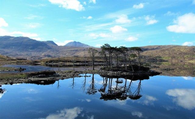 Still waters, Loch Assynt