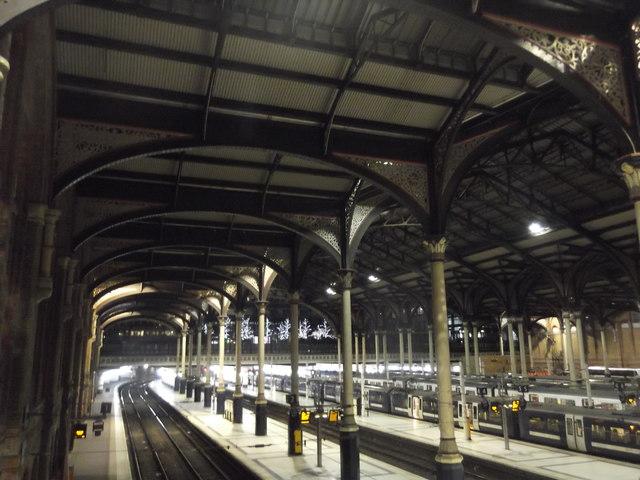 Platforms, Liverpool Street Station