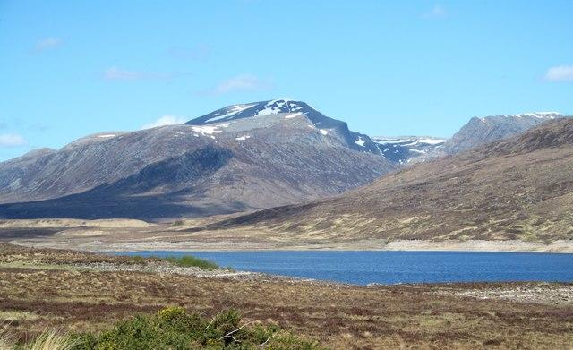 View over Loch Glascarnoch