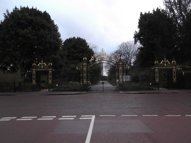 Chester Road Gates from Chester Road