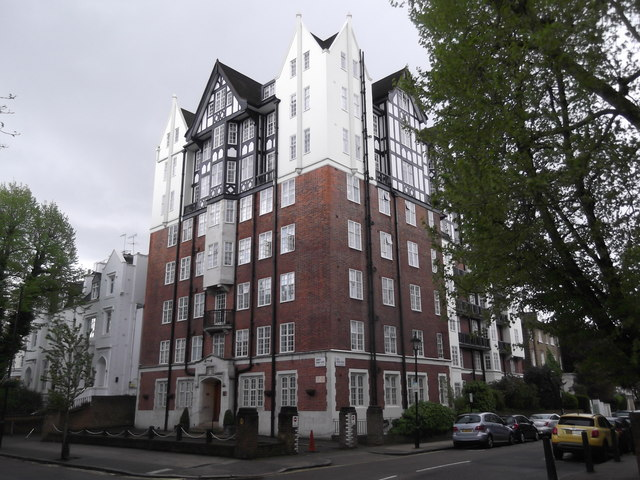 Building at the junction of Abbey Road and Hill Road NW8
