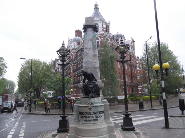 The Onslow Ford Memorial, Grove End Road NW8
