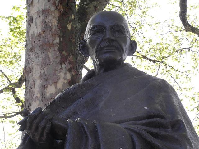 Gandhi, Parliament Square