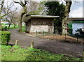 ST1499 : Inconvenient in Bargoed Park, Bargoed by Jaggery