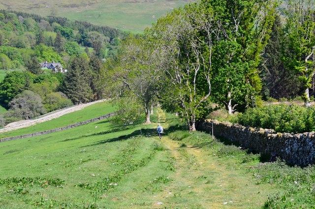 Track to Yarrowford