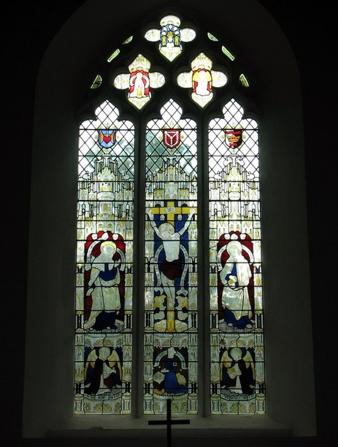 The Edith Cavell memorial window