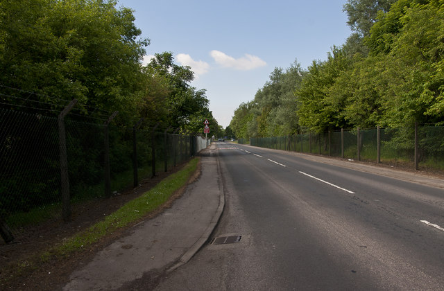 Singleton Road passes through MOD property which is all screened off