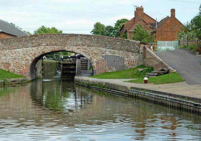 Dark Lane Bridge near Braunston Locks, Northamptonshire