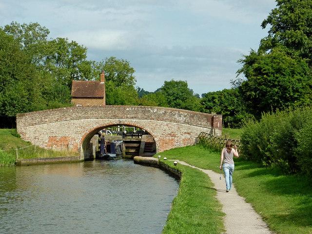 Braunston Lock No 2 in Northamptonshire