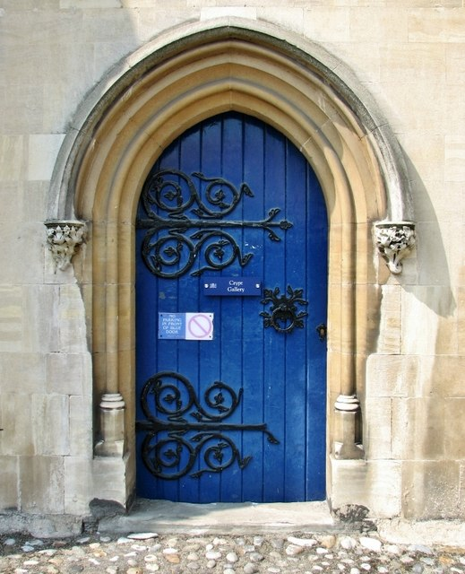 Door into the Crypt Gallery