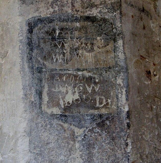 The Crypt Gallery - graffiti