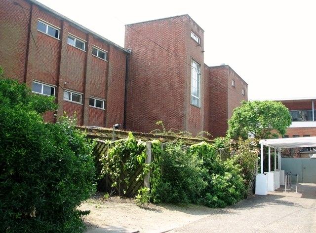 Teaching block at Norwich School