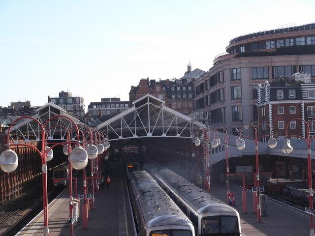 Platforms, Marylebone Station