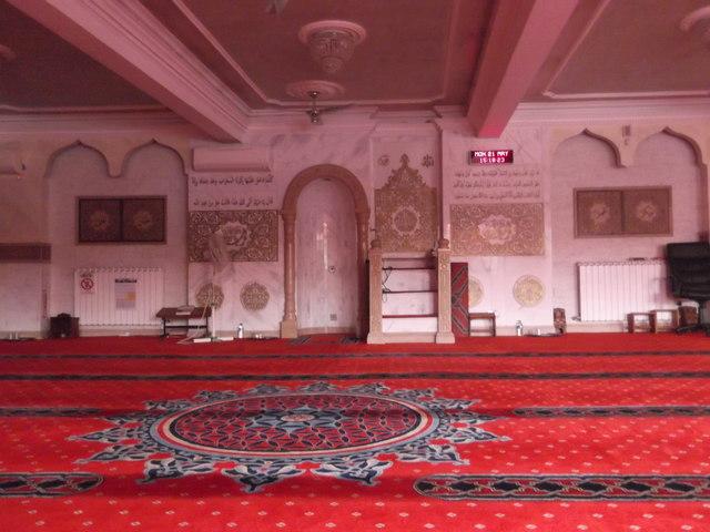 Prayer Room, Madina Mosque, Lea Bridge Road E5