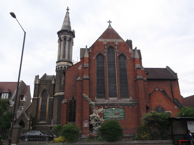 Church of St James the Great, Lower Clapton Road E5