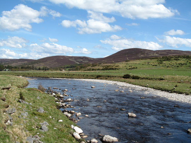 The Findhorn river below Garbole