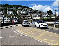 SX2553 : A387 from East Looe to West Looe by Jaggery