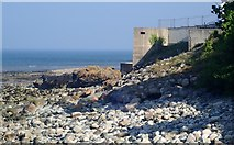 J3730 : WWII Pillbox at The Rock, Newcastle by Eric Jones