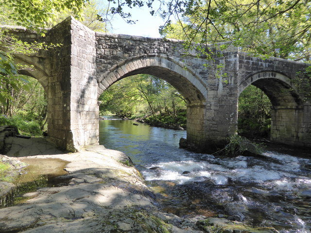 River Dart and New Bridge