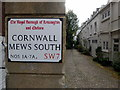 TQ2679 : Cornwall Mews South by PAUL FARMER