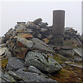 NG7622 : Summit rocks, Sgurr na Coinnich by Ian Taylor