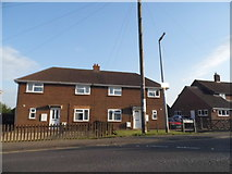TL2149 : Houses on Mill Lane, Potton by David Howard