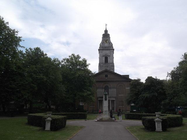 St John at Hackney, Lower Clapton Road E5