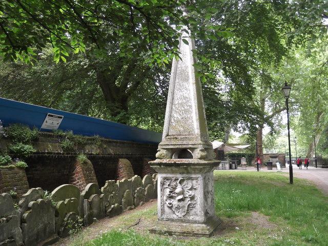 Tomb, St John at Hackney Churchyard, Lower Clapton Road E5