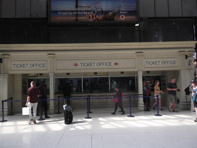 Ticket Office, Marylebone Station