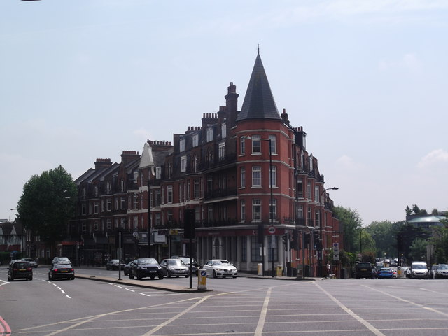 Finchley Road and Fortune Green Road Junction