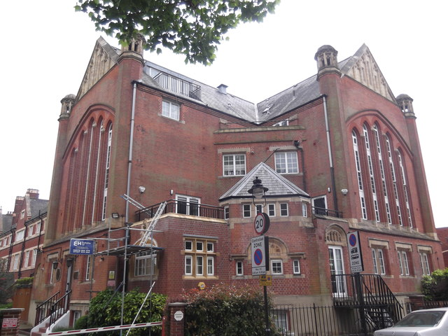 The Octagon, Burrard Road NW6